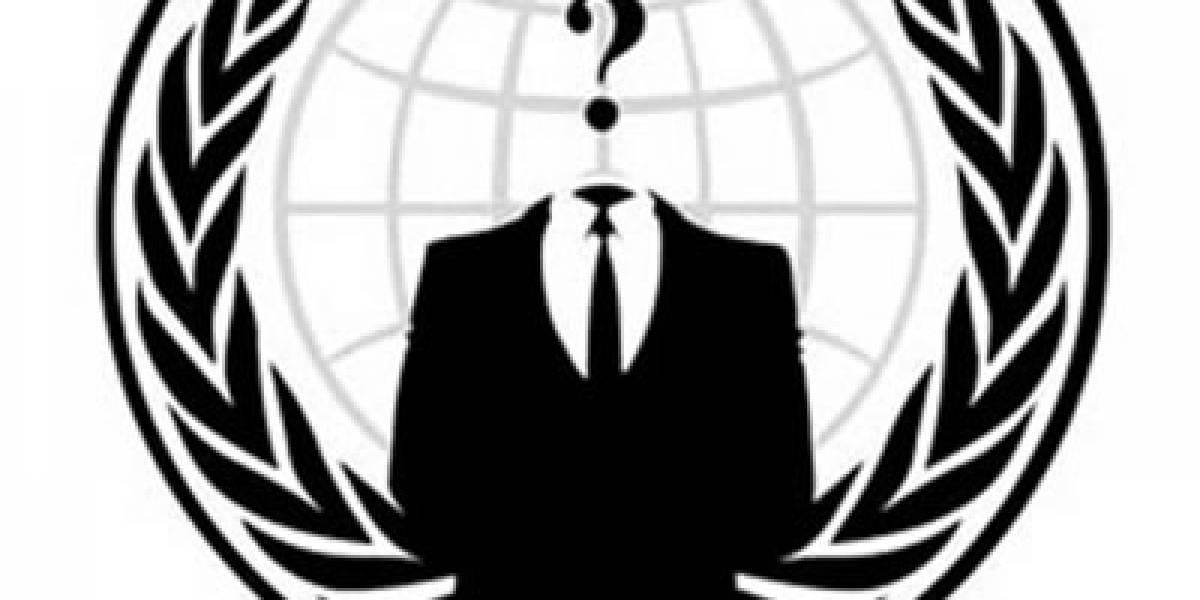 Anonymous hackea a la OTAN y manda carta al FBI