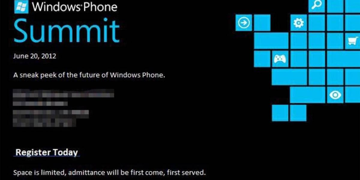 Microsoft dará una vista previa de Windows Phone 8 el 20 de junio