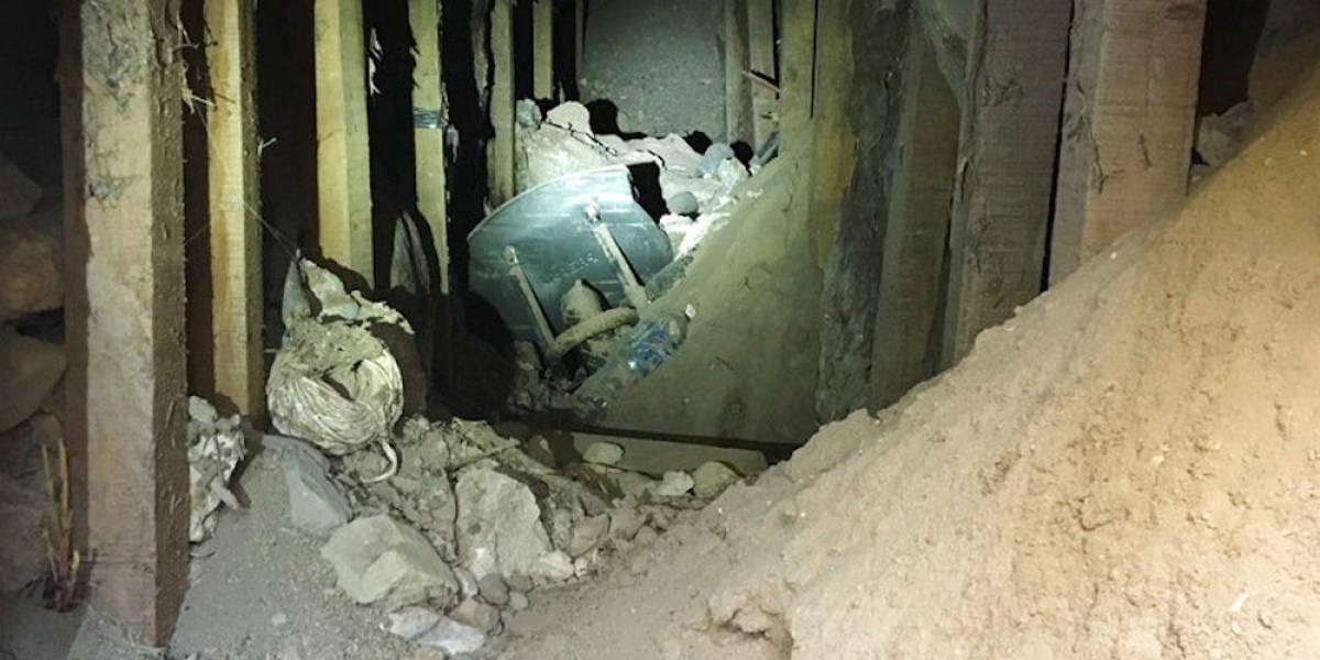 Por casualidad, descubren túnel clandestino en la frontera México-EU