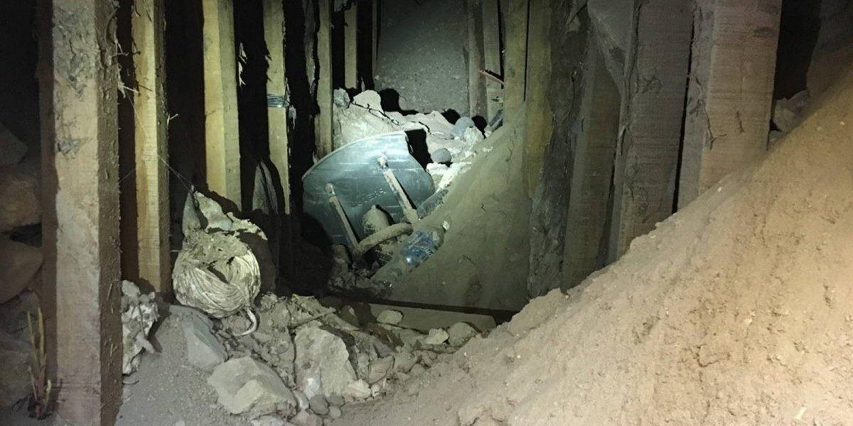 Encuentran túnel abandonado en frontera de Texas con México