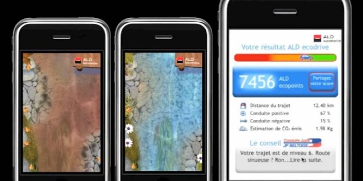 ALD ecodrive: Tu iPhone te ayuda a conducir mejor y consumir menos combustible