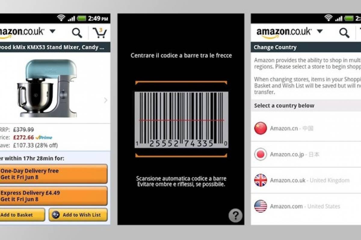 La aplicación Amazon Móvil para Android ya está disponible ...
