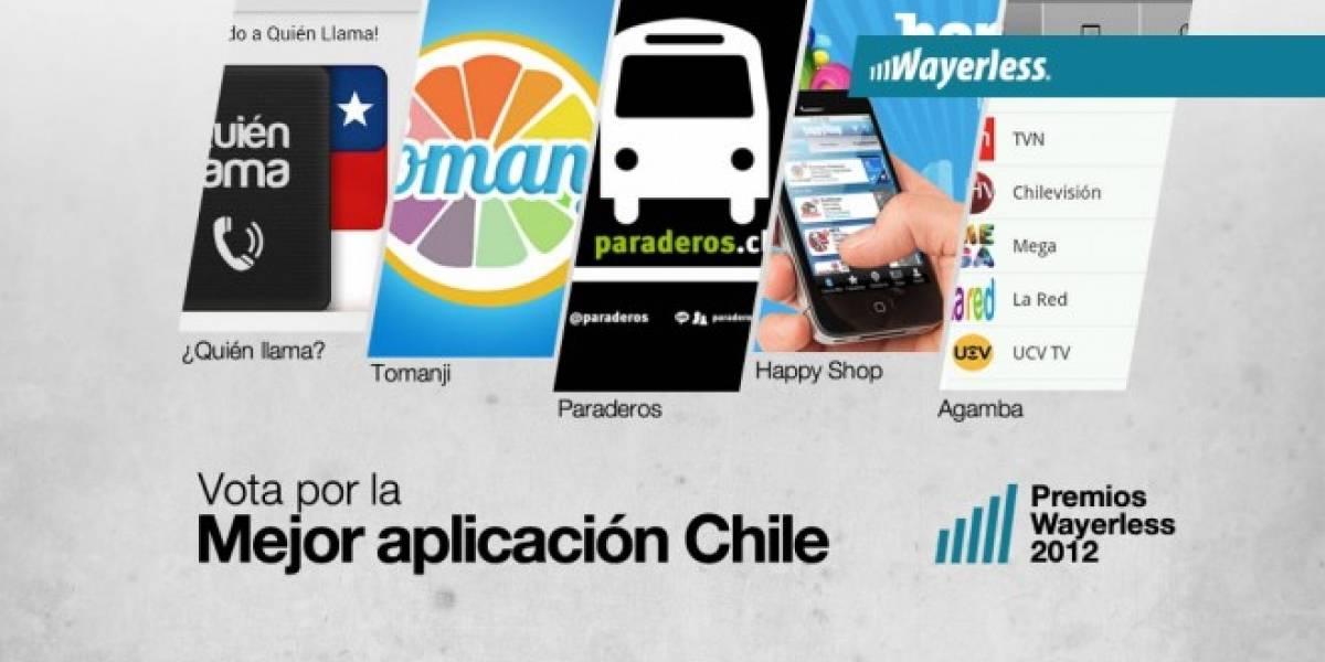Vota por la Mejor Aplicación Chile 2012