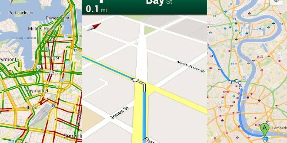 Europa: Cada vez se incrementa el uso de los mapas a través del móvil