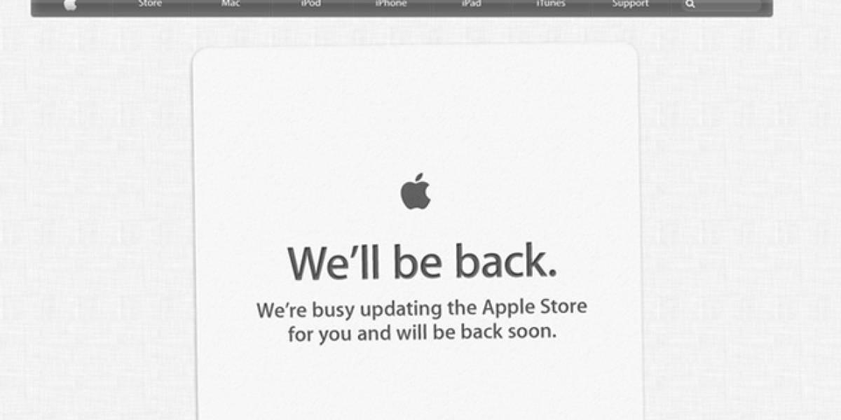 WWDC 2012: Apple Store está fuera de servicio... ya vienen las actualizaciones