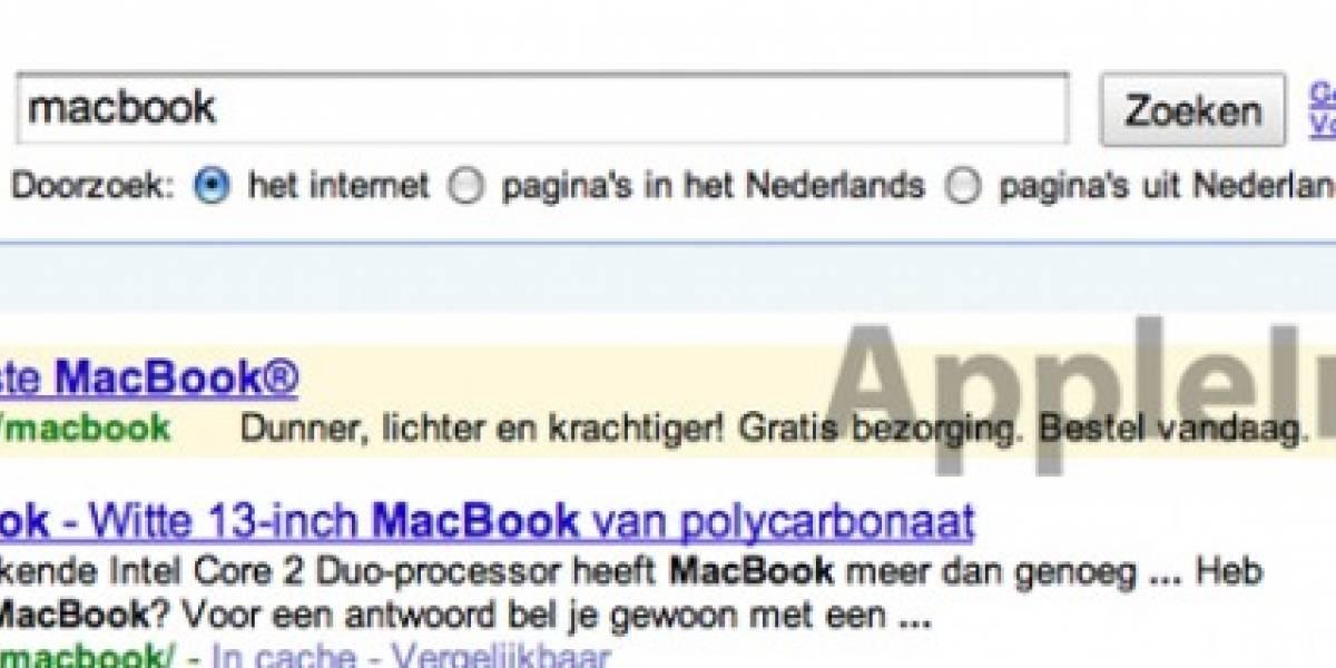 Se filtran nuevos modelos de MacBook en publicidad de Google