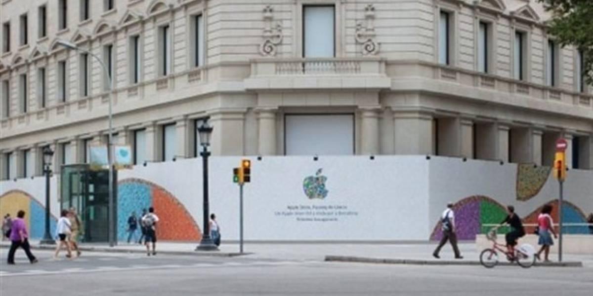 España: Apple anuncia apertura de nueva tienda en Barcelona