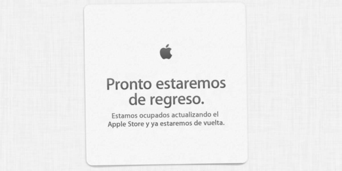 And boom! El Apple Store está cerrado