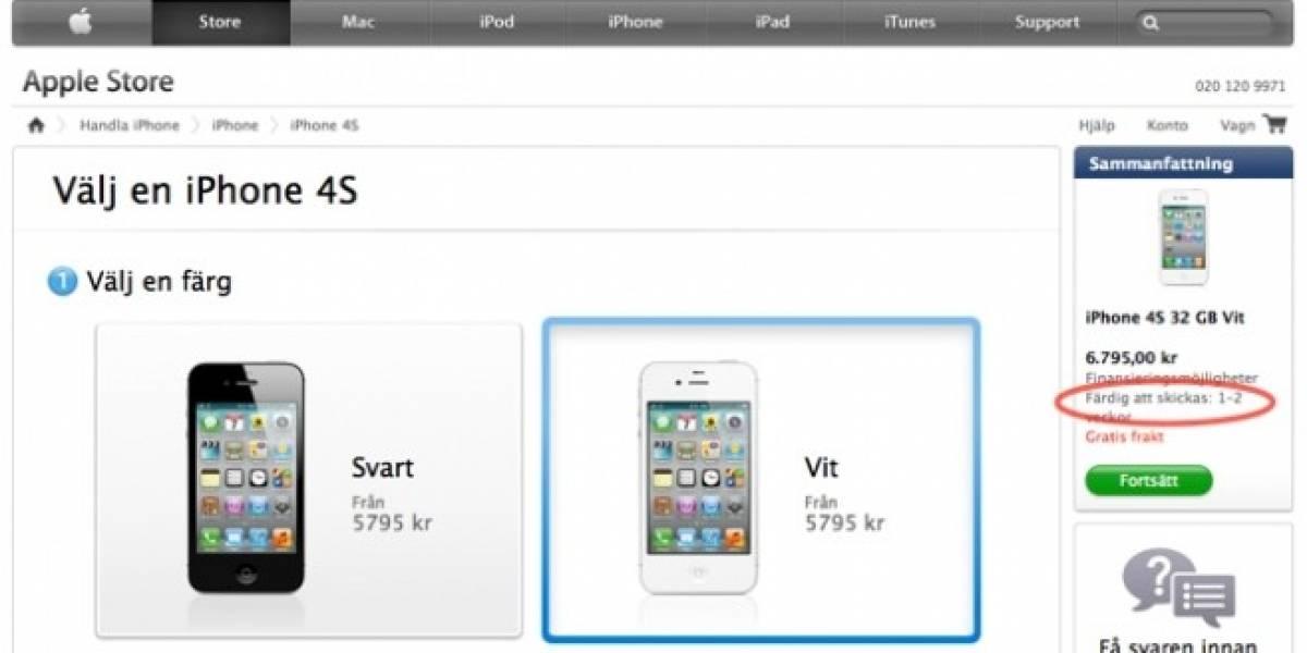 Comienza pre-venta del iPhone 4S en 22 países