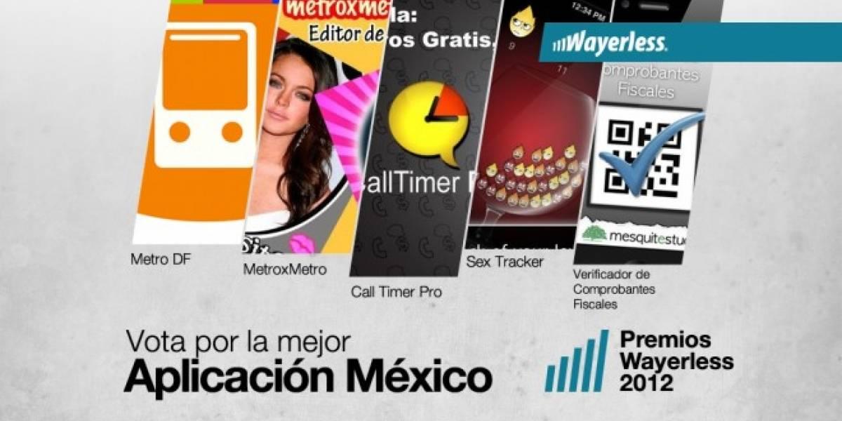 Vota por la Mejor Aplicación México 2012