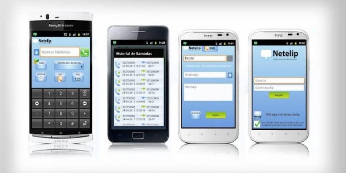 Netelip: una aplicación para llamar a través de Internet con tu Android