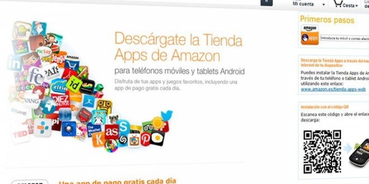 Amazon App Store para Android ya está disponible en España