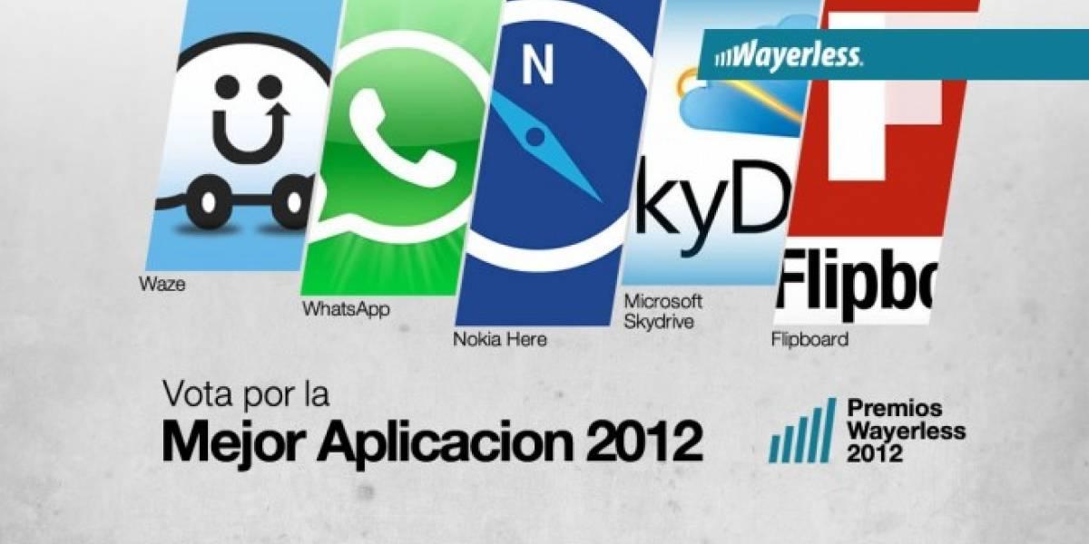 Vota por la Aplicación del Año 2012