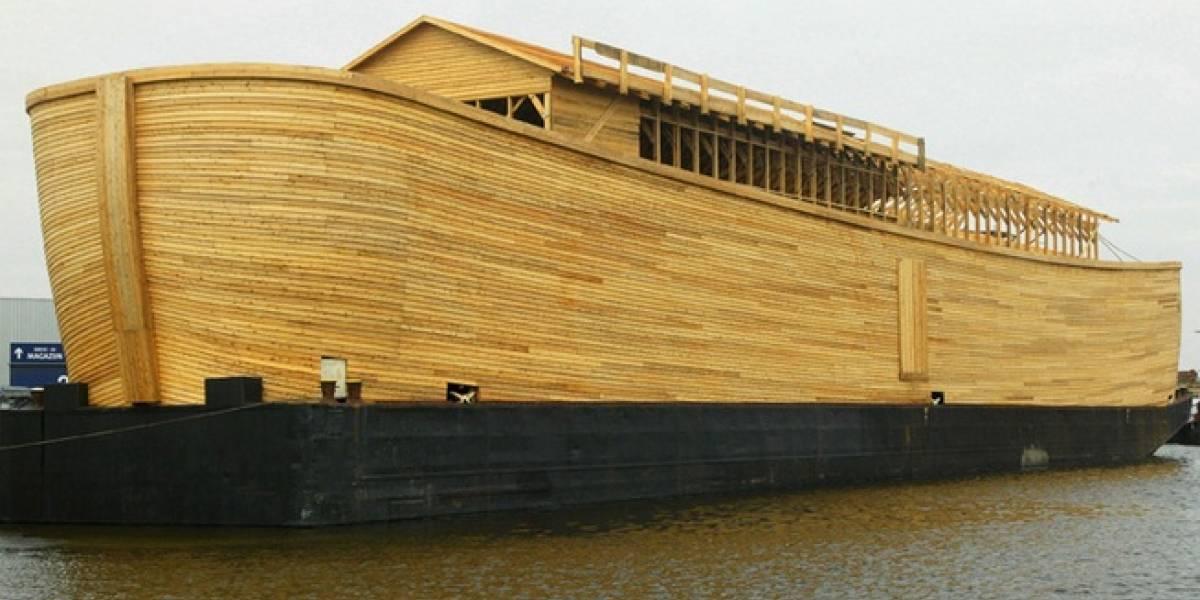 Se acabó todo: Ya existe réplica del Arca de Noé a escala 1:1