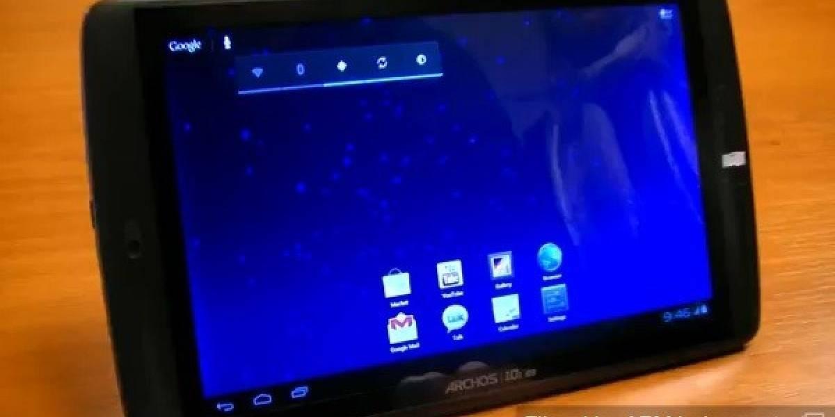 Tablets Archos G9 recibirán Ice Cream Sandwich 4.0.1