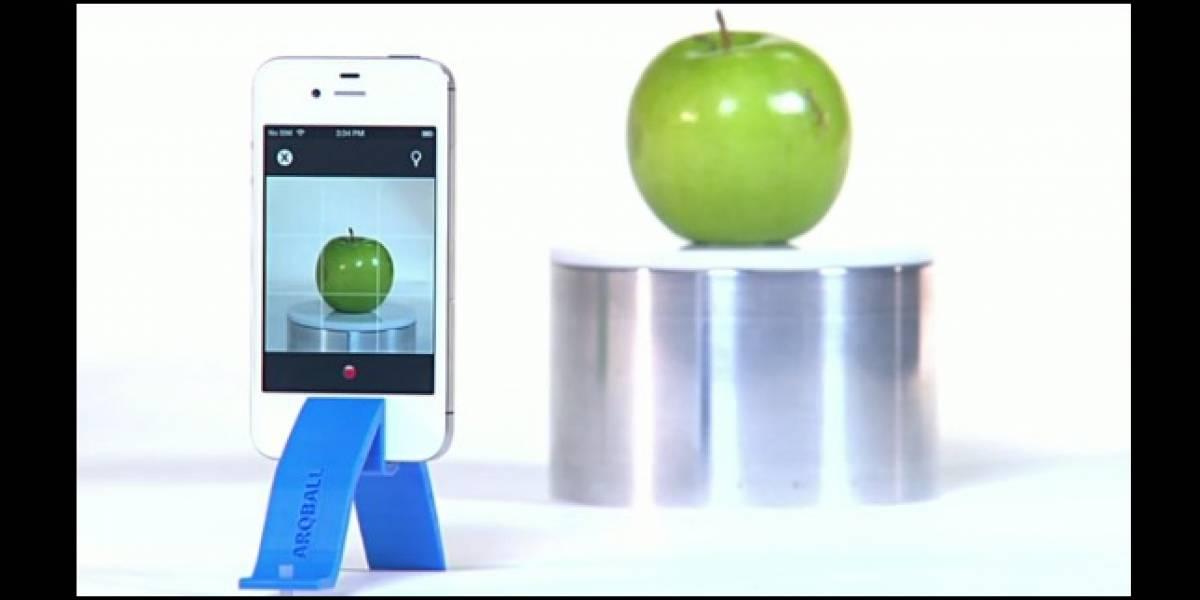 Arqball Spin: Escanea objetos reales en 3D con la cámara del móvil