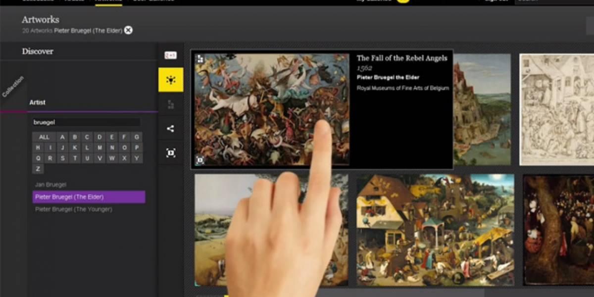 Google Art nos abre las puertas a 151 museos de 41 países del mundo