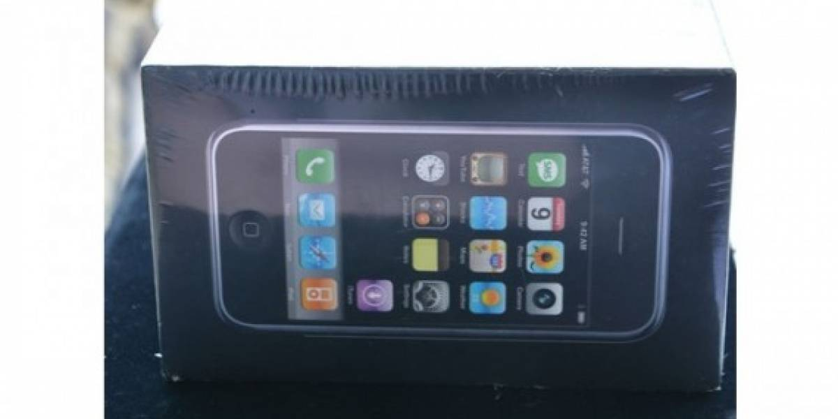iPhone original sellado llega a eBay por USD $10.000