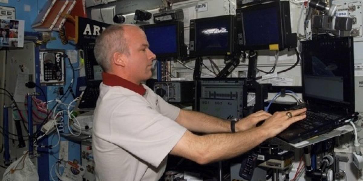 Internet es tan lenta en la ISS que los astronautas no pueden jugar online