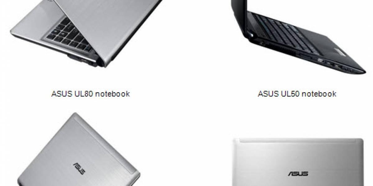 ASUS presenta su linea de portátiles UL