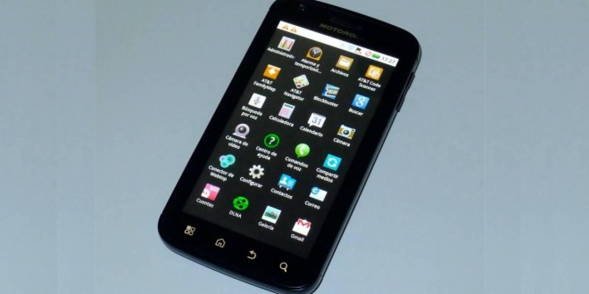 Motorola Atrix recibe actualización a Android Gingerbread en Europa
