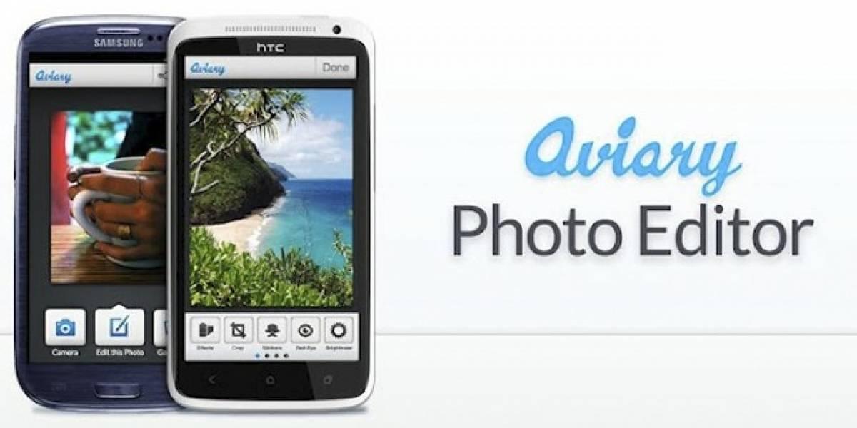 Aviary lanza su aplicación oficial para iOS y Android