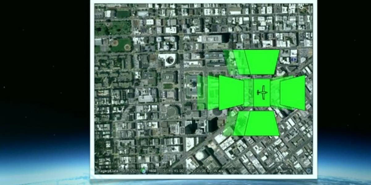 Google Earth creará mejores mapas 3D tomando fotos con aviones