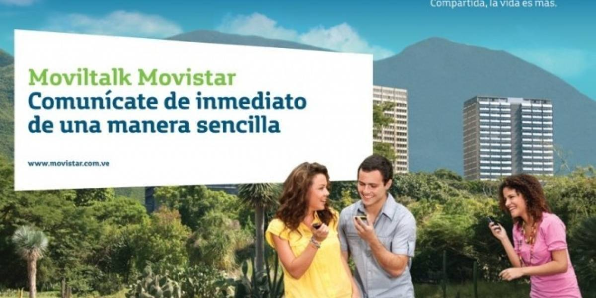 Venezuela: Movistar presenta MovilTalk, un servicio de chat push to talk