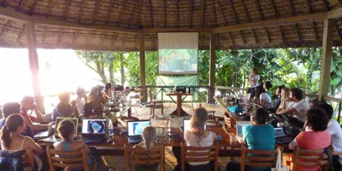 Google Earth entrena periodistas en el Amazonas