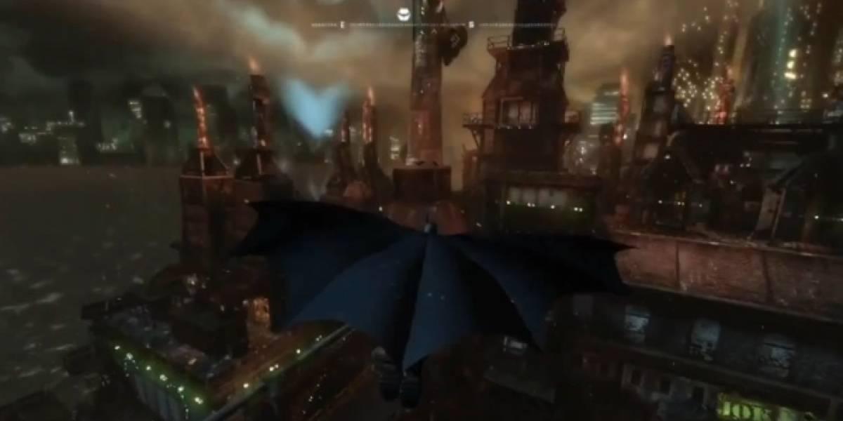 Un vistazo a la ciudad en el nuevo trailer de Arkham City