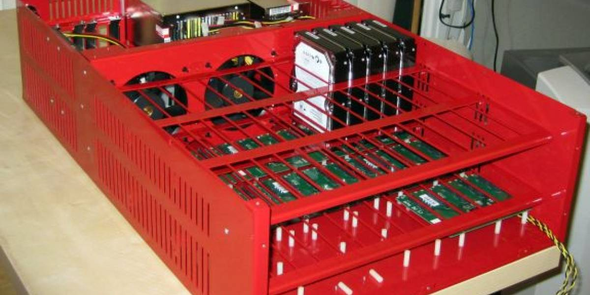 Backblaze presenta diseño libre para cloud storage