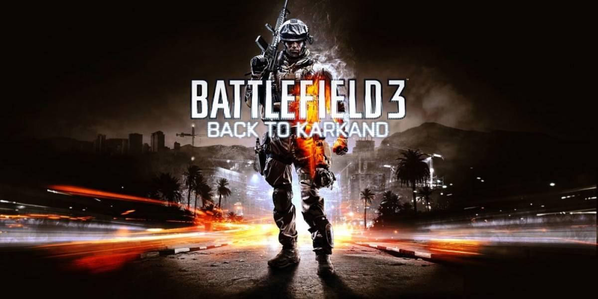 Back to Karkand para Battlefield 3 ya tiene fecha de salida
