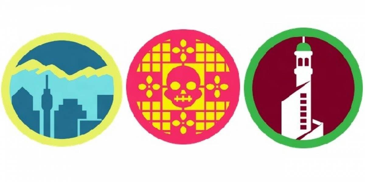 Foursquare implementa badges locales para Santiago, Doha y Ciudad de México
