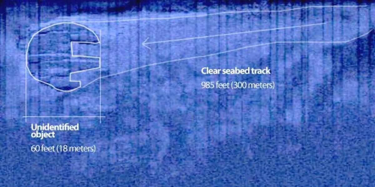Encuentran círculo misterioso en las profundidades submarinas