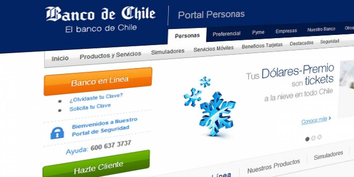 Chile: Multa por CLP$40 millones al Banco de Chile tras lío de cartolas