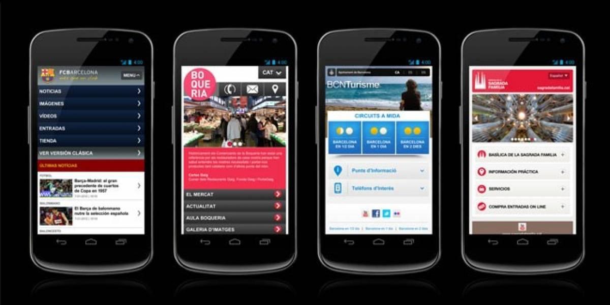 Google invita a descubrir Barcelona desde el móvil