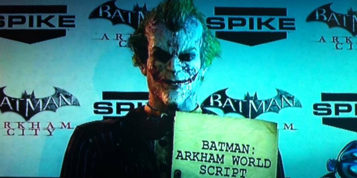 The Joker da pistas de Batman: Arkham World [VGA 2011]