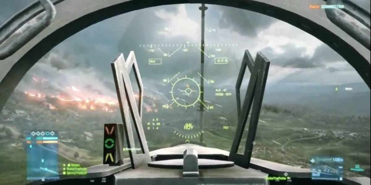El mapa Caspian Border en el nuevo trailer del multijugador de Battlefield 3 [gamescom 11]