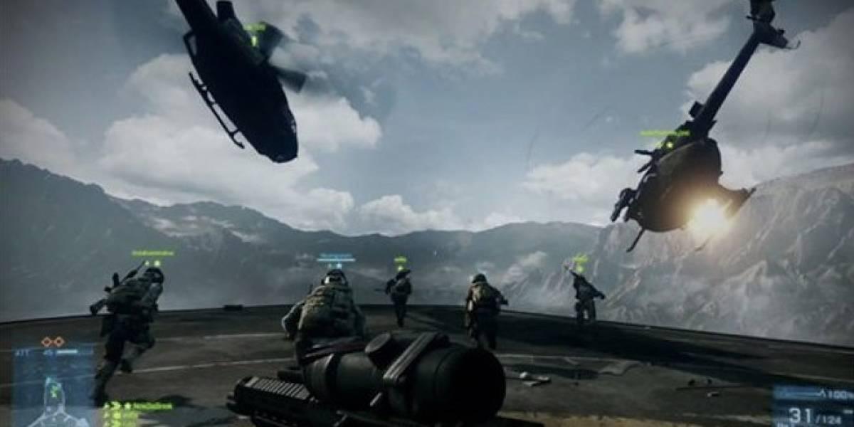 A la constructora Textron no le gusta que sus helicópteros estén en Battlefield 3