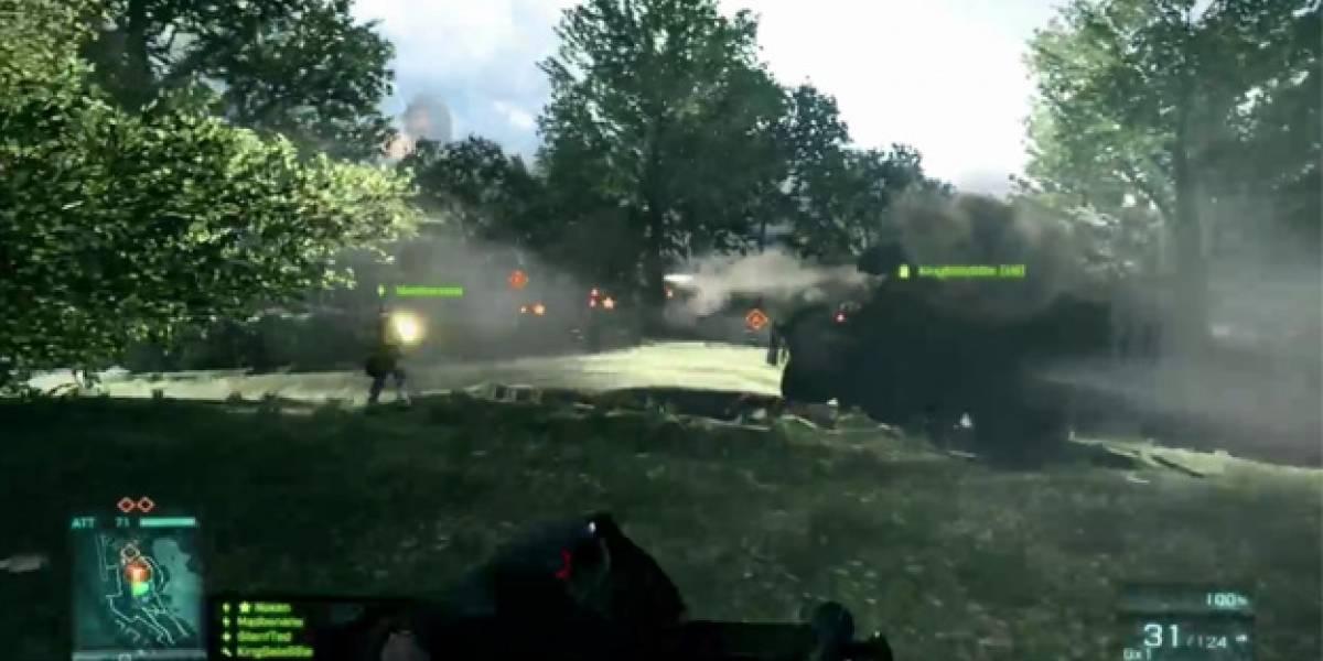 El multijugador de Battlefield 3 en consolas es algo más compacto, pero nada alarmante