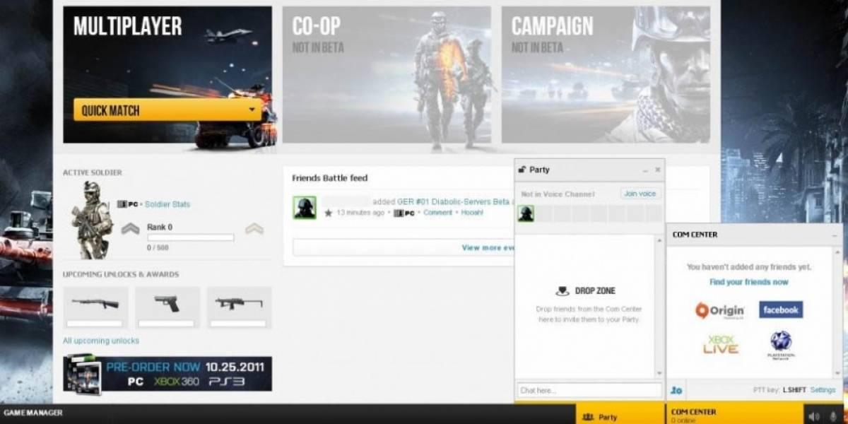 Las ventajas y opciones de Battlelog en nuevo trailer de Battlefield 3