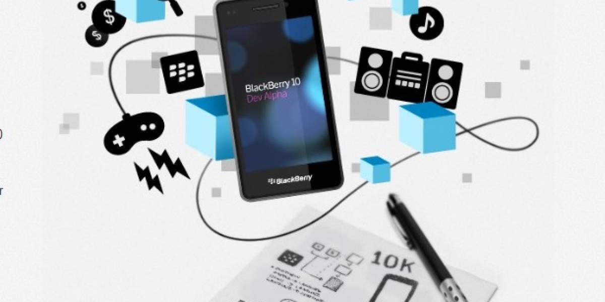 Primer equipo basado en BlackBerry 10 no dispondrá de teclado físico