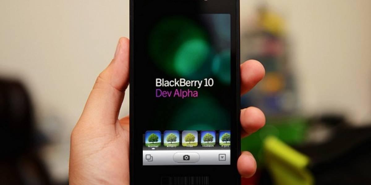 ¿Es importante para el BlackBerry 10 tener la aplicación de Instagram?