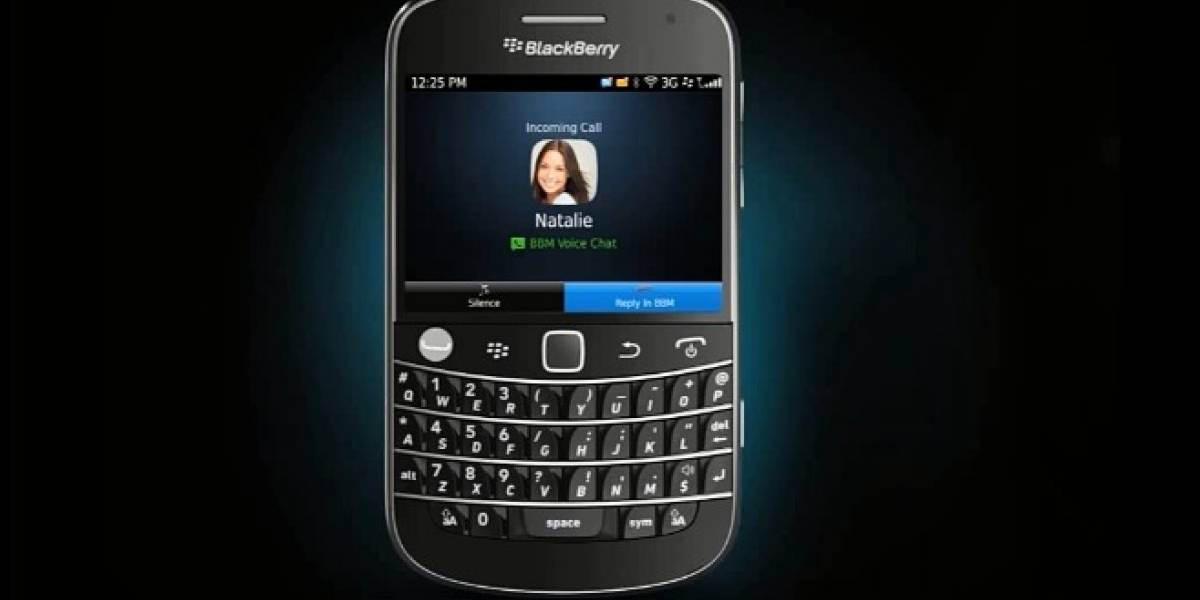 BlackBerry libera BlackBerry Messenger 7 integrando BBM Voice