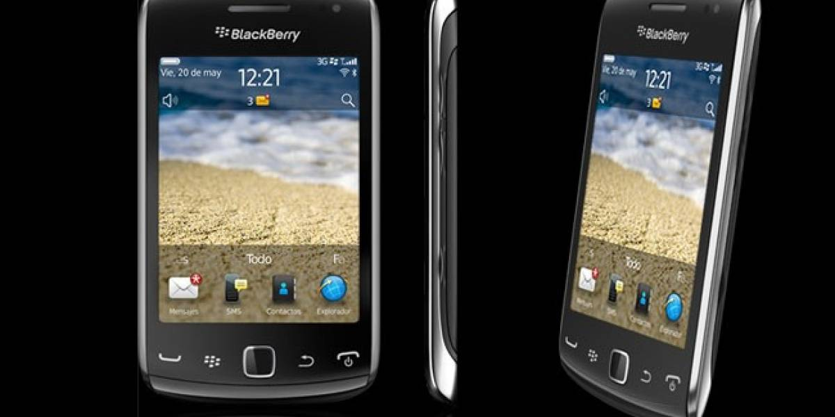 Blackberry Curve 9380 disponible en España con Movistar