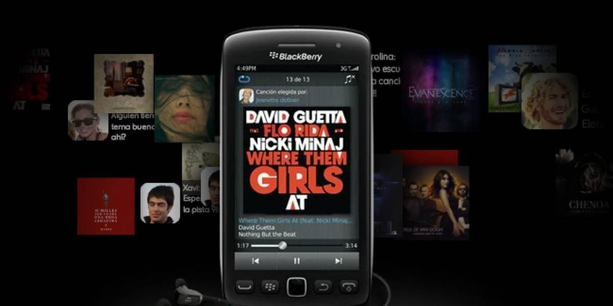 Blackberry Music ya está en España