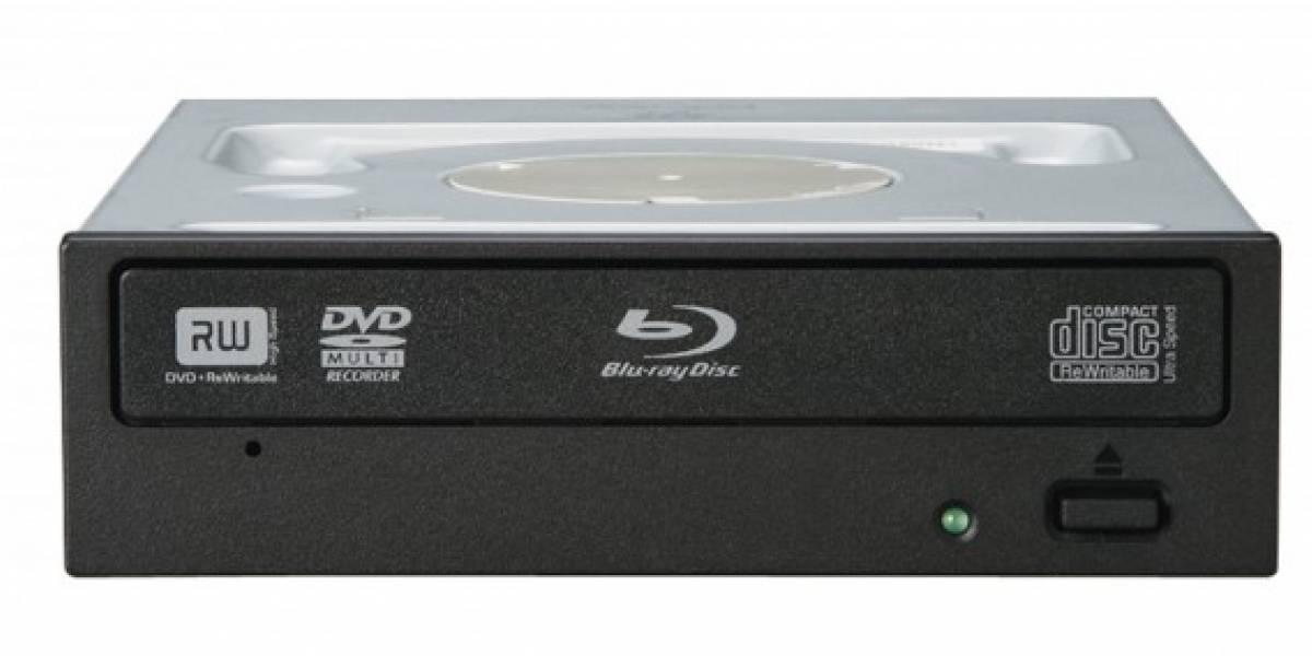 El primer grabador Blu-Ray 12x