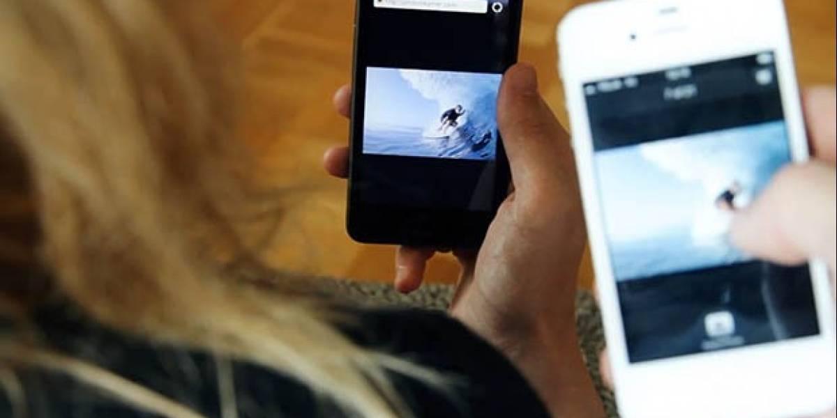 Nokia lanza PhotoBeamer en sus equipos con Windows Phone