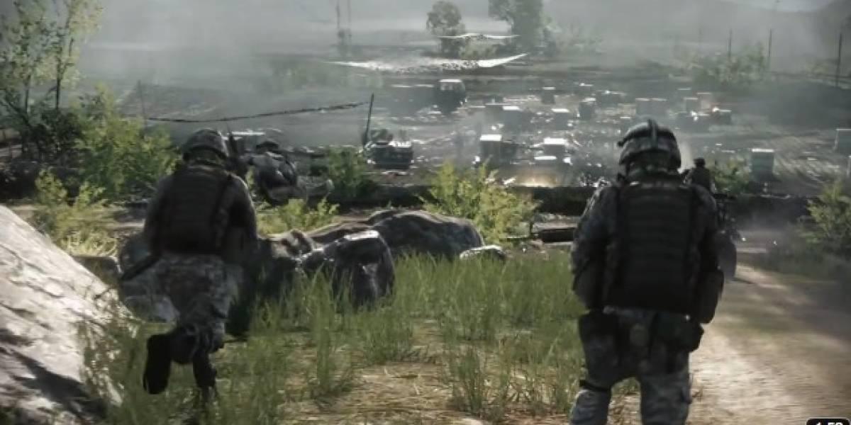EA dice: Battlefield 3 será mucho mejor que Call of Duty 2011