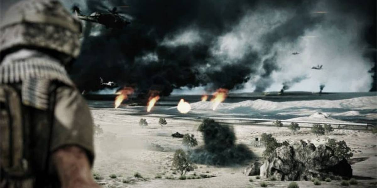 EA lanza teaser trailer de Battlefield 3 con música de Jay-Z